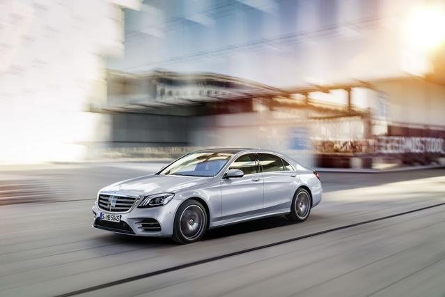 Salon de Shanghai 2017 - Mercedes Classe S restylée: le retour du six en ligne