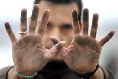 Essai du savon sec'mouss: Alors, fin de la mano negra ??