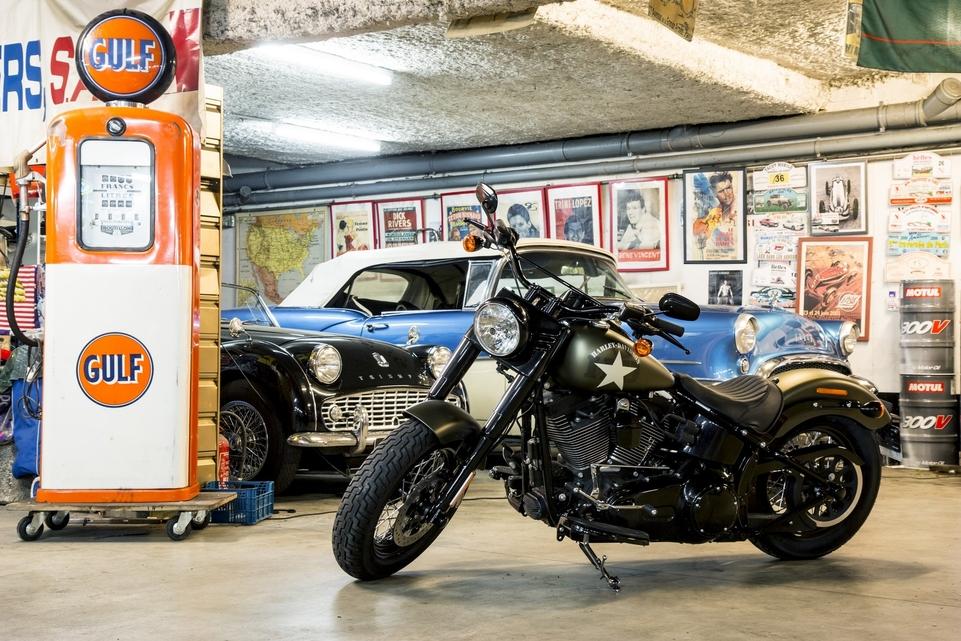 Harley-Davidson Softail Slim S 2016 : la Dark Custom attitude