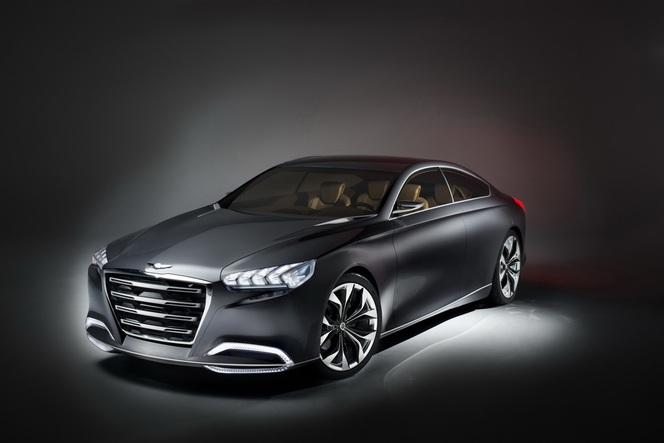 Detroit 2013 : Hyundai HCD-14, la future Genesis