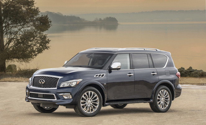 Salon de New York : Infiniti restyle le QX80