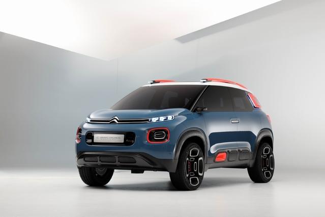 Citroën dévoilera dans quelques semaines le C3 Aircross, préfiguré par ce concept-car dévoilé en mars au dernier salon de Genève.