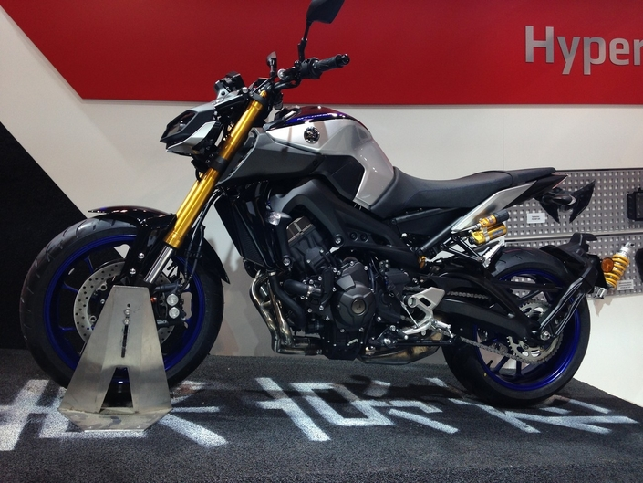 Salon de Milan 2017 en direct : Yamaha MT-09 SP