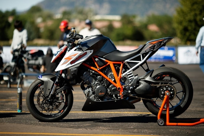 WP optimise la KTM 790 Duke
