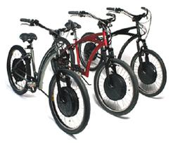 8 vélos électriques roulent pour le Festival de Cannes