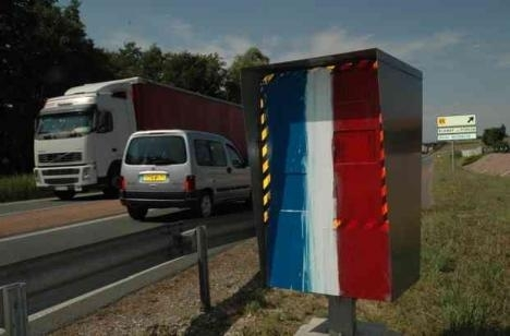 Radars: le top 10 des flashs en France