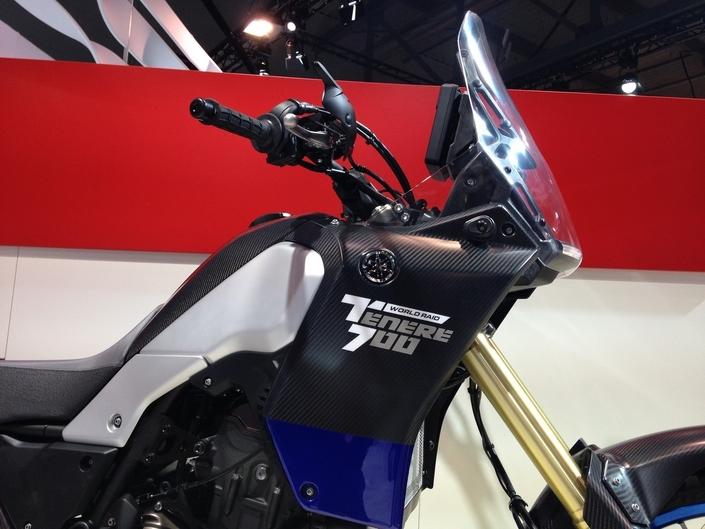 Salon de Milan 2017 en direct : Yamaha Ténéré 700 Raid World