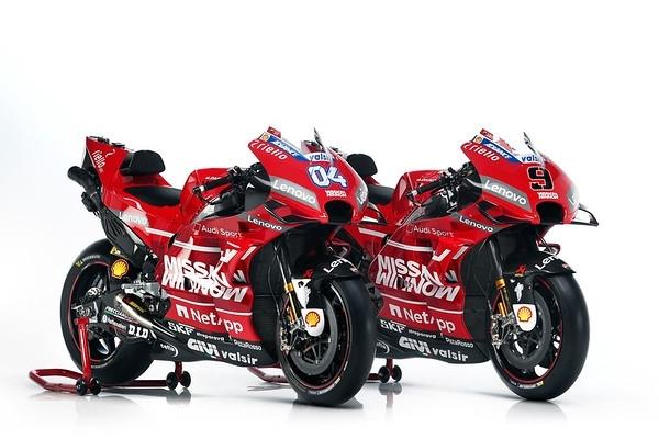 MotoGP - Ducati: la saison 2019 sera placée sous le signe d'Audi Sport!