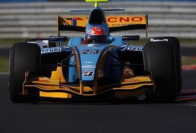 GP2 - Nelson Panciatici: Une première manche convaincante