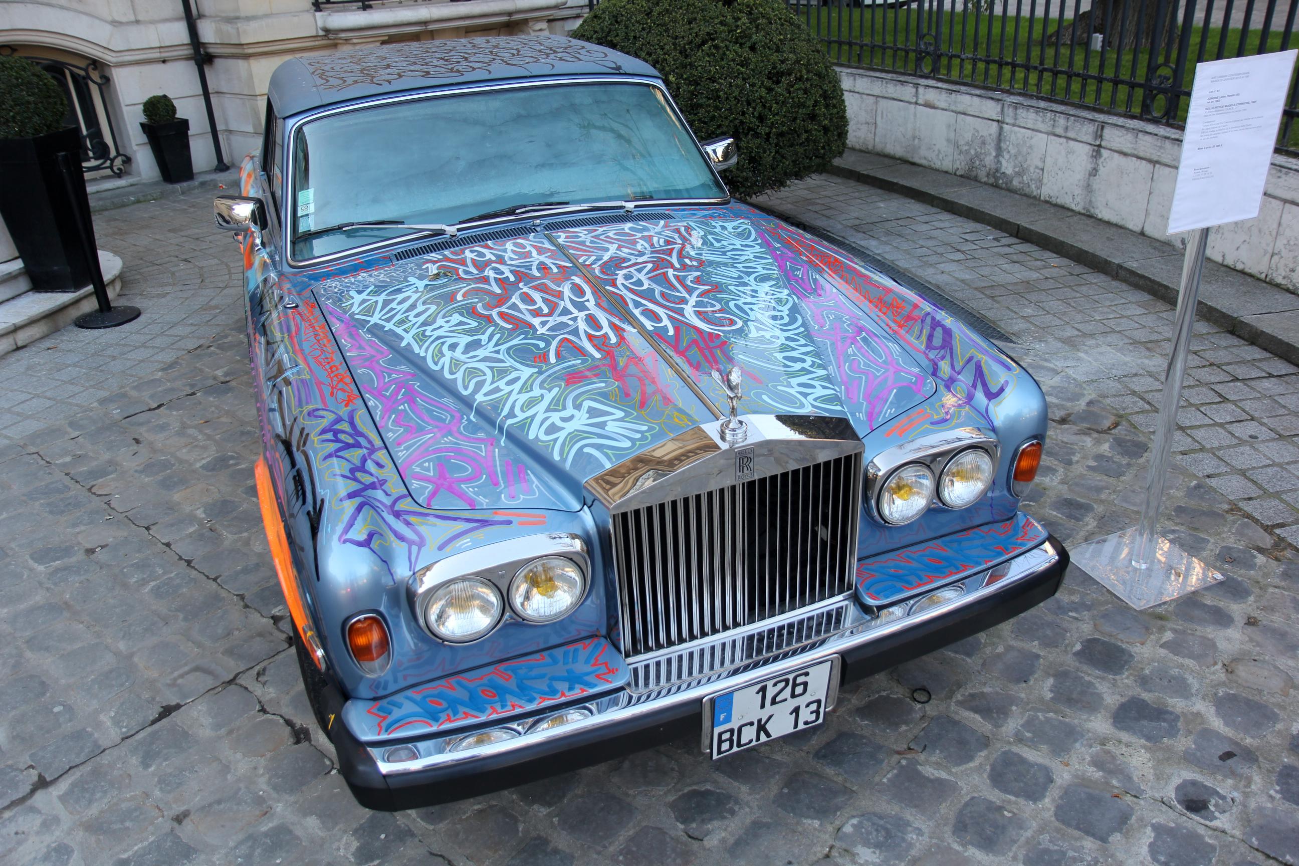 La Rolls-Royce d'Eric Cantona à la vente aux enchères Artcurial
