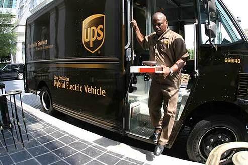UPS commande 500 camions de livraison écolos supplémentaires