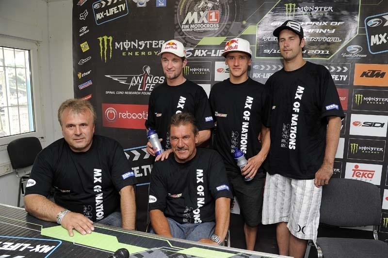 MXDN 2011 : l'Italie et l'Allemagne dévoilent leurs équipes