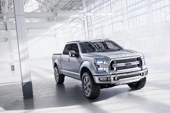 Detroit 2013 : Ford Atlas Concept, futur F-150