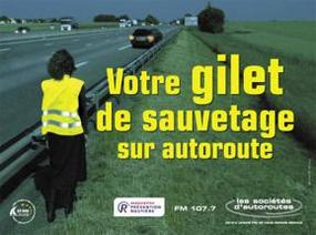 Distribution gratuite de 25 000 gilets jaunes sur l'autoroute