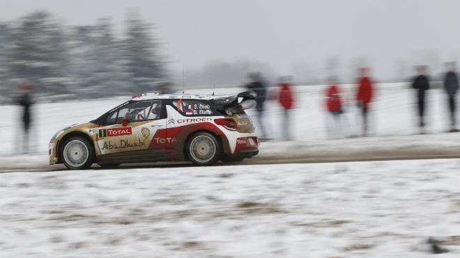 WRC Monte-Carlo 2013 : le duel Ogier-Loeb en cours