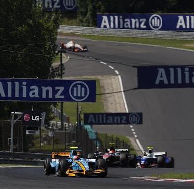 GP2 - Nelson Panciatici: On boude et peste dans la seconde course en Hongrie
