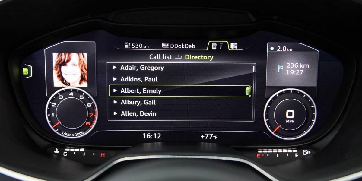 audi a3 restylée gagnera le compteur digital virtual cockpit