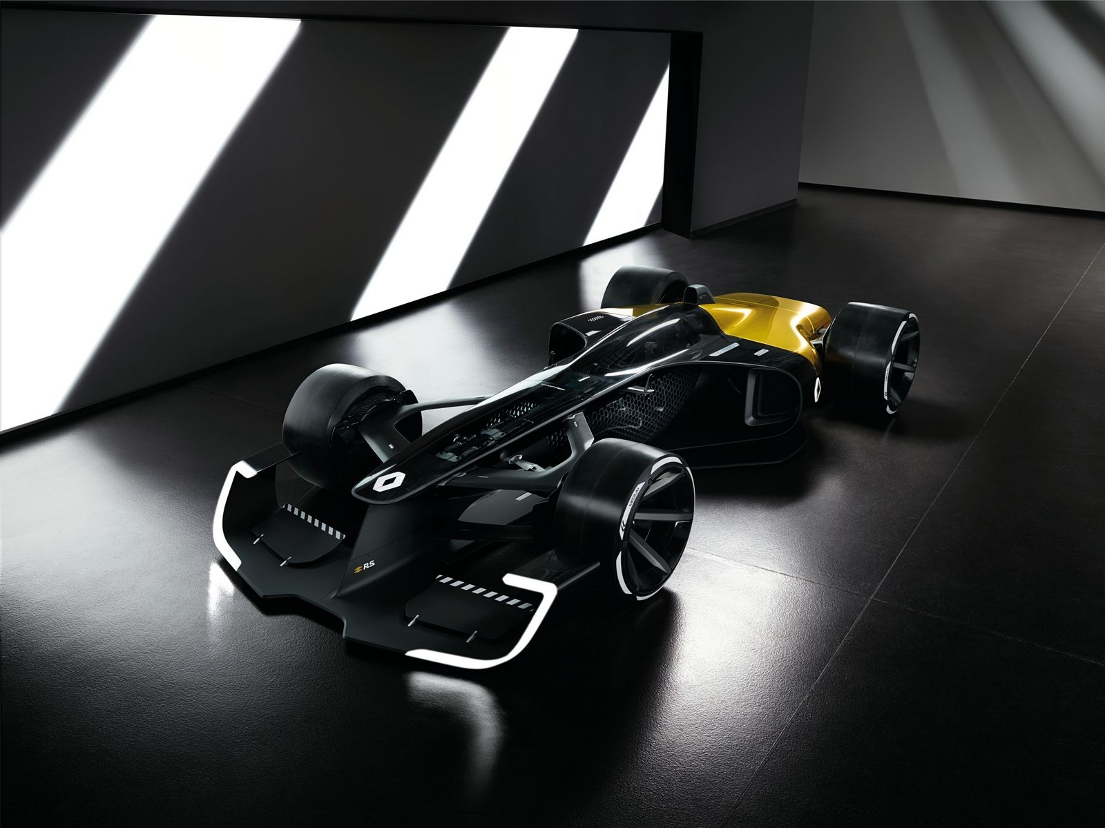 salon de shanghai 2017 renault d voile le futur de la f1 avec le concept rs 2027 vision. Black Bedroom Furniture Sets. Home Design Ideas