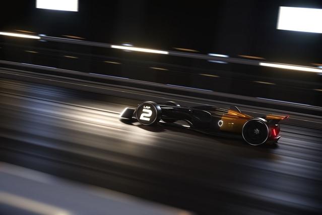 Salon de Shanghai 2017 : Renault dévoile le futur de la F1 avec le concept RS 2027 Vision