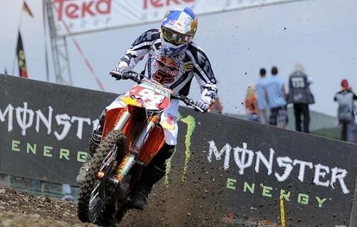 Motocross mondial : GP d'Allemagne MX 2, Paulin-Roczen, une manche chacun