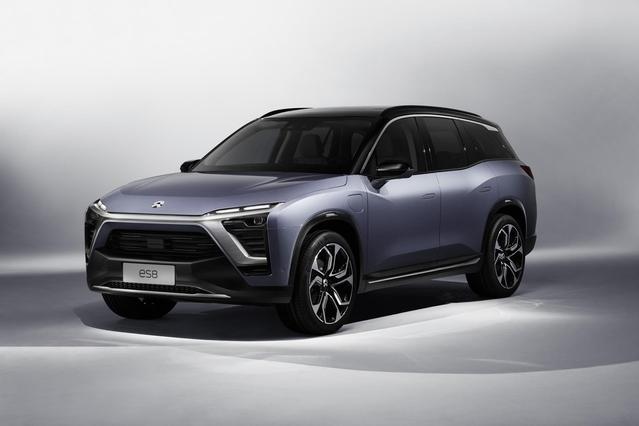 Salon de Shanghai 2017 : après la supercar, Nio dévoile un SUV électrique