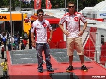 Moto GP - Ducati: Le team Alice se fait une place au soleil