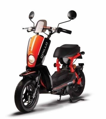 Roulez éco avec le scooter Spillo... seulement 1,3 litre au 100!!!