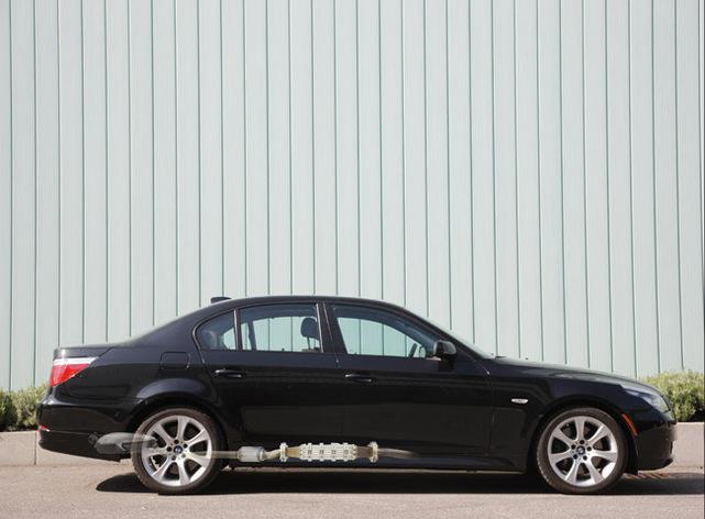 Un générateur thermoélectrique pour la BMW Série 5 530i !