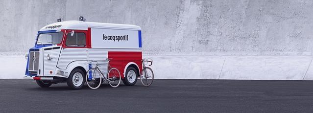 Citroën et Le coq sportif célèbrent les 70 ans du Type H