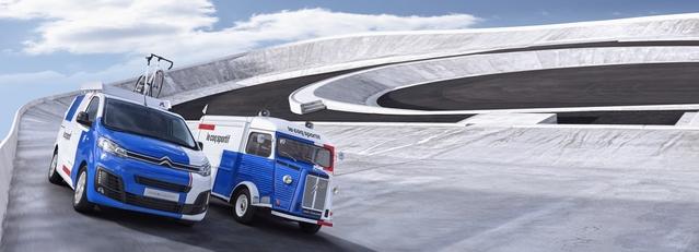 Le célèbre Type H fête ses 70 ans cette année. C'est l'occasion pour Citroën de lui rendre hommage à travers un partenariat avec Le coq sportif, en même temps que de faire coup double en mettant en valeur le nouveau Jumpy.