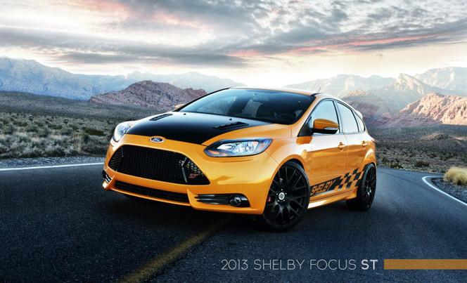 Detroit 2013 : Shelby Focus ST, les effets de la mondialisation