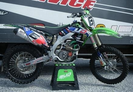 Mx des Nations : La 450 Kawasaki de Gautier Paulin