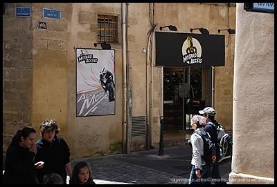 Sud-Est : le centre ville d'Aix en Provence a enfin ses accessoires moto