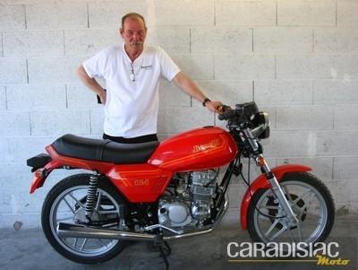 Interview du futur-ex président du Benelli et Motobi Club de France lors des Coupes Moto Légende.
