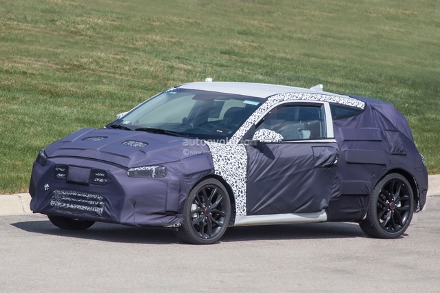 Scoop : le prochain Hyundai Veloster en balade