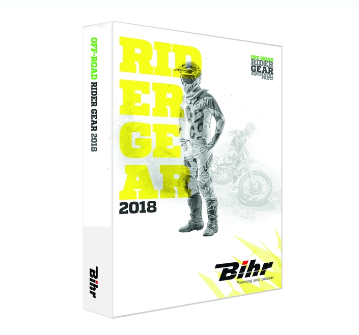 Bihr: le nouveau catalogue Rider Gear 18 arrive
