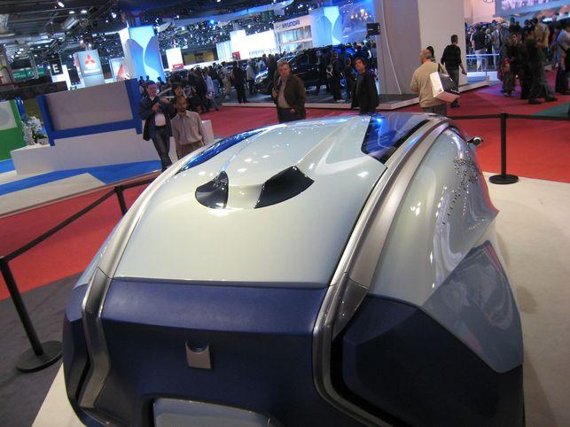 Le Concept CRYSALYS : une vitrine technologique intéressante
