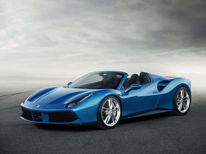 Ferrari officialise la décoiffante 488 Spider