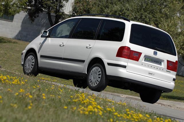 Le Seat Alhambra Ecomotive ? Un monospace évitant le malus écologique