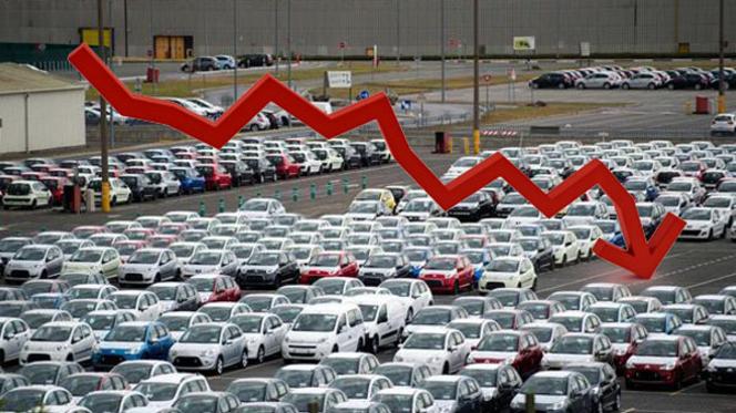 Europe : des immatriculations en chute de 7,8 %, Renault, Opel, Fiat et PSA pas à la fête