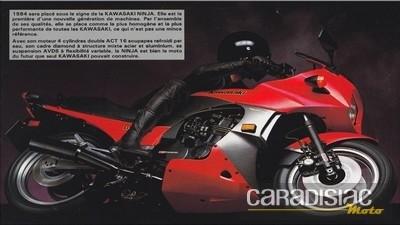 Kawasaki GPZ 900 R: historique.