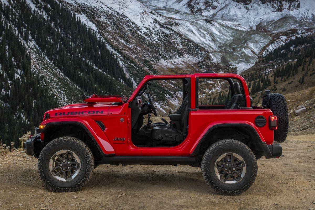 Une première image officielle pour le nouveau Jeep Wrangler