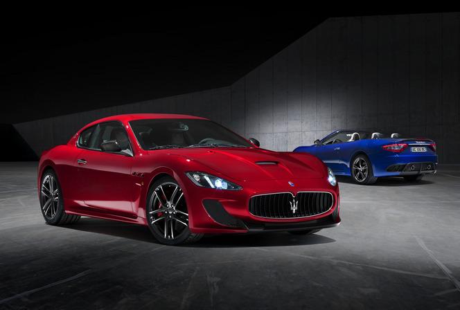 New York 2014 : Maserati Gran Turismo et Gran Cabrio MC Centennial Edition