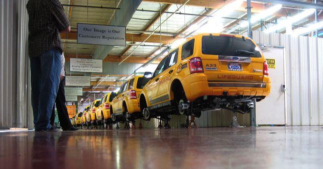Le Ford Escape Hybrid adopté par les sauveteurs !