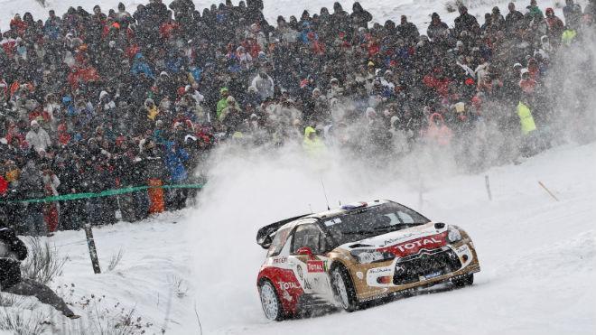 WRC Monte-Carlo - Jour 2 : Loeb toujours devant Ogier, Sordo et Novikov s'illustrent
