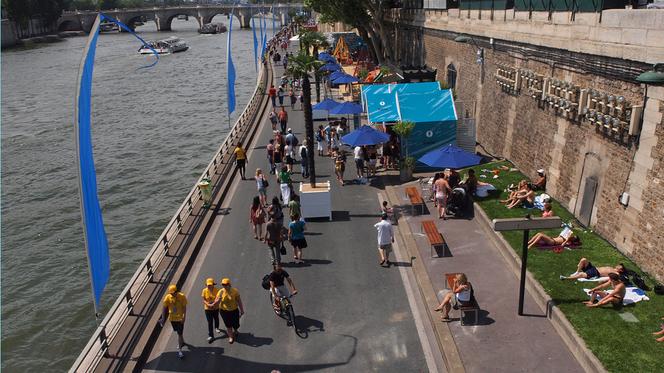 La rive droite de Paris aux piétons ? Le MEDEF n'en veut pas !