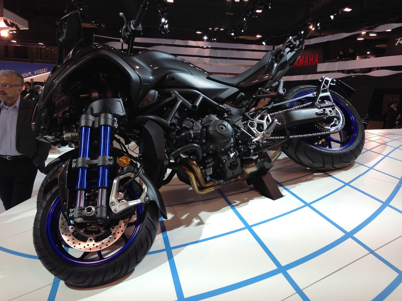 salon de milan 2017 en direct yamaha niken