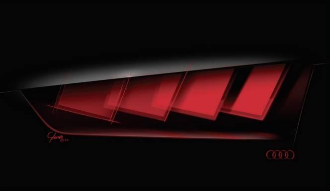 Salon de Francfort 2015 : Audi tease un mystérieux concept lumineux