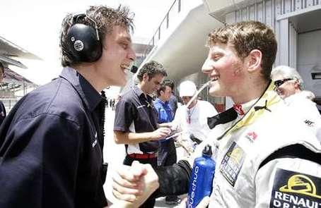 GP2 Asia-Dubaï-Course 1 : la chance avec Grosjean