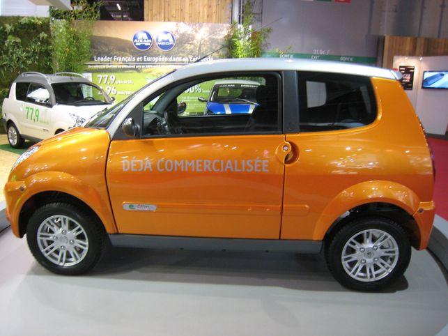 Une auto électrique sans permis : la MEGA e-City